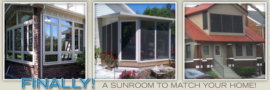 Finally! A Sunroom To Match Your Home - Sunrooms 2