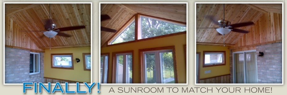 Finally! A Sunroom To Match Your Home - Inside of Sunroom