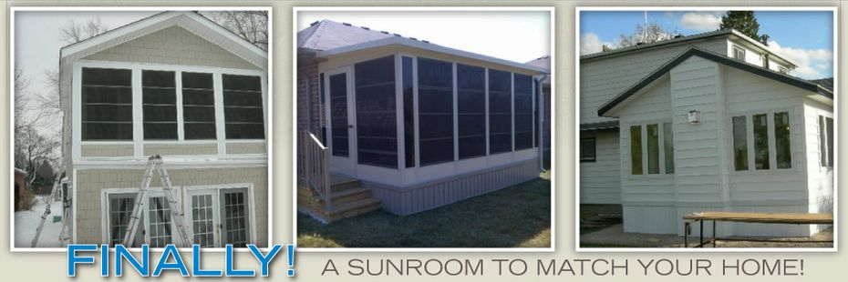Finally! A Sunroom To Match Your Home - Sunrooms 1