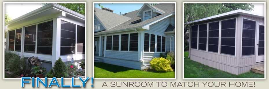 Finally! A Sunroom To Match Your Home - Sunrooms 4